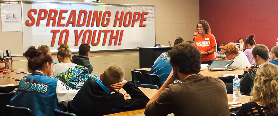 Spreading Hope for Youth!